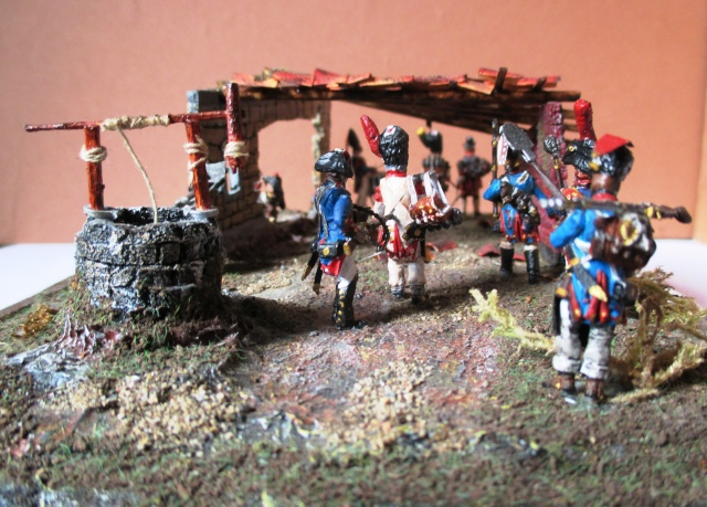 UNIFORMES ESPAGNOLES EN 28 mm . Sous le Premier empire.  Photo_21