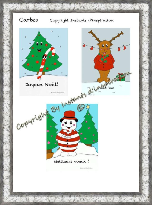 Affiches Noël  Cartes10
