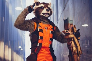 @VendrediEtMoi #VendrediEtMoi #CommunityManager : #Cosplay : Un #costume de #Rocket très #réussi Ycpffr10