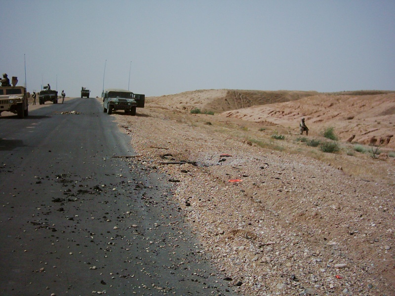 IED Attack on Route Willow Dsci0012
