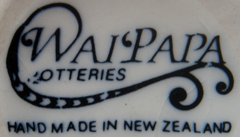 Marks for the gallery Waipapa Potteries, Lilian Jones and Manuka Pottery Margaret Pope Dsc00111