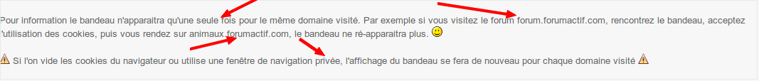 Obligations de la CNIL: Bandeau cookies sur les forums - Page 2 Captur27