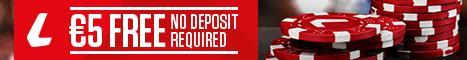 Ladbrokes Casino €5 no deposit bonus Ladbro10