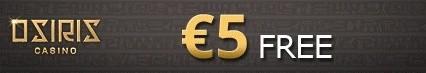 Orisis Casino €5 no deposit bonus Orisis10