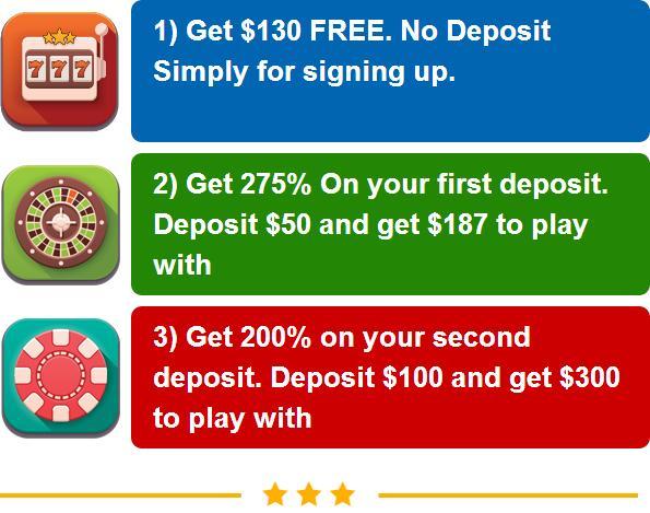 Tropicana Casino welcome bonus