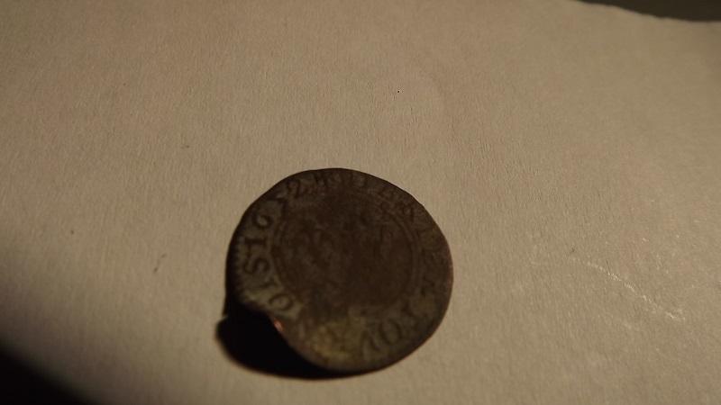 Denier tournois Charles II de Gonzague 1652 Dscf3014
