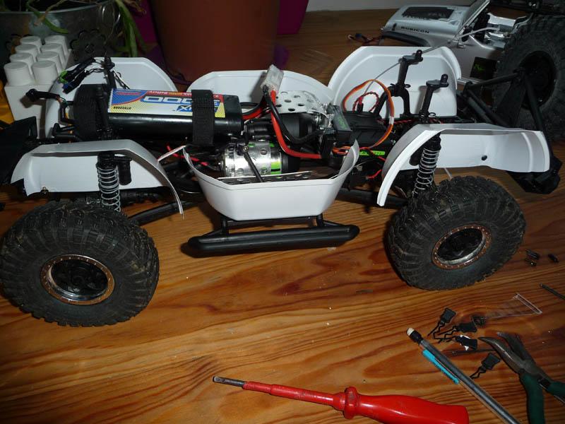 Fabriquer passage de roues et garde boue pour SCX10 et tout Scale Trial 110