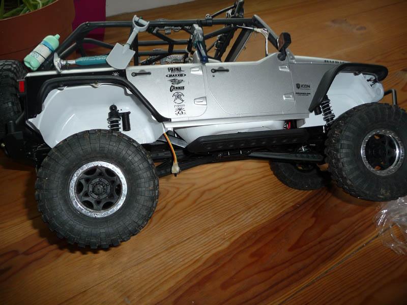 Fabriquer passage de roues et garde boue pour SCX10 et tout Scale Trial 410