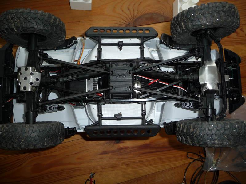 Fabriquer passage de roues et garde boue pour SCX10 et tout Scale Trial 510