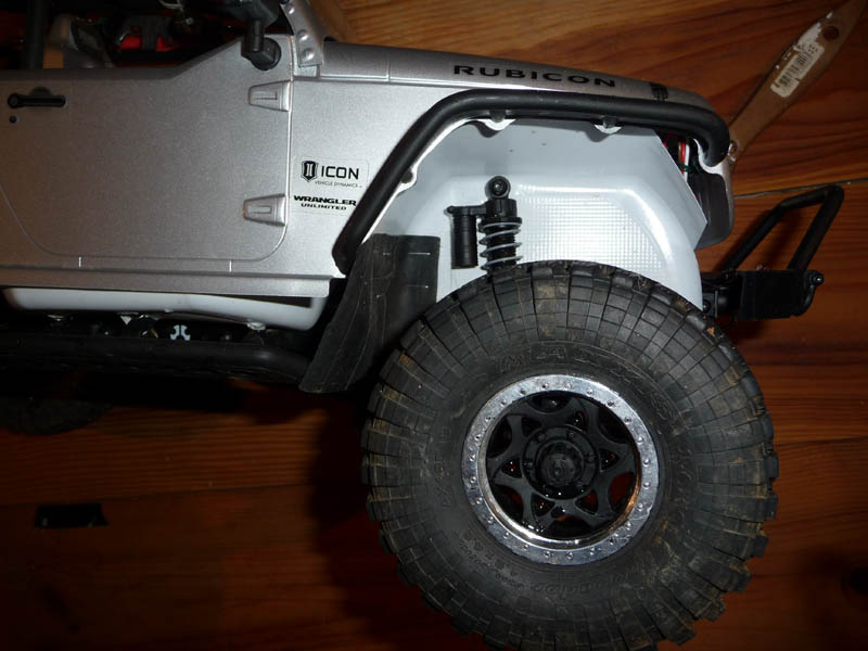 Fabriquer passage de roues et garde boue pour SCX10 et tout Scale Trial 710