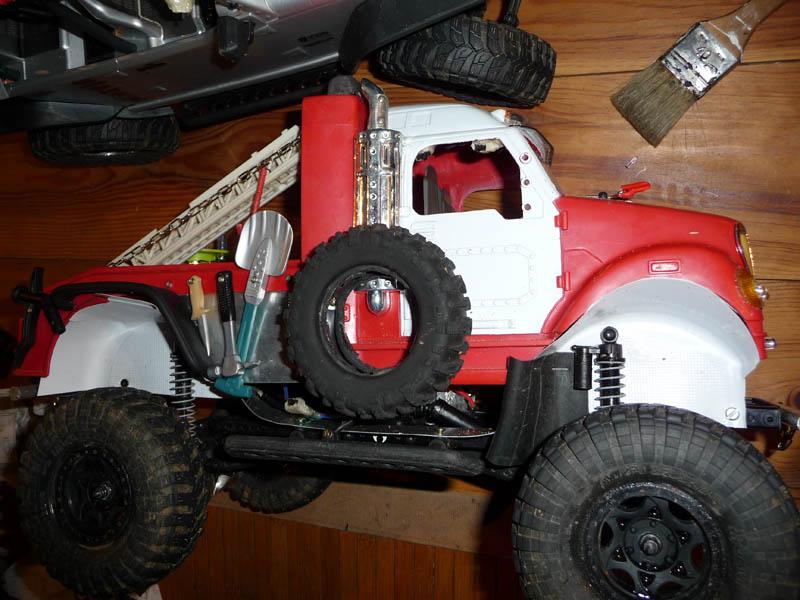 Fabriquer passage de roues et garde boue pour SCX10 et tout Scale Trial 910