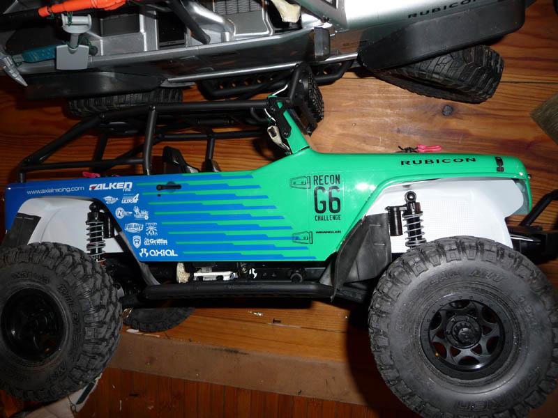 Fabriquer passage de roues et garde boue pour SCX10 et tout Scale Trial 9a10