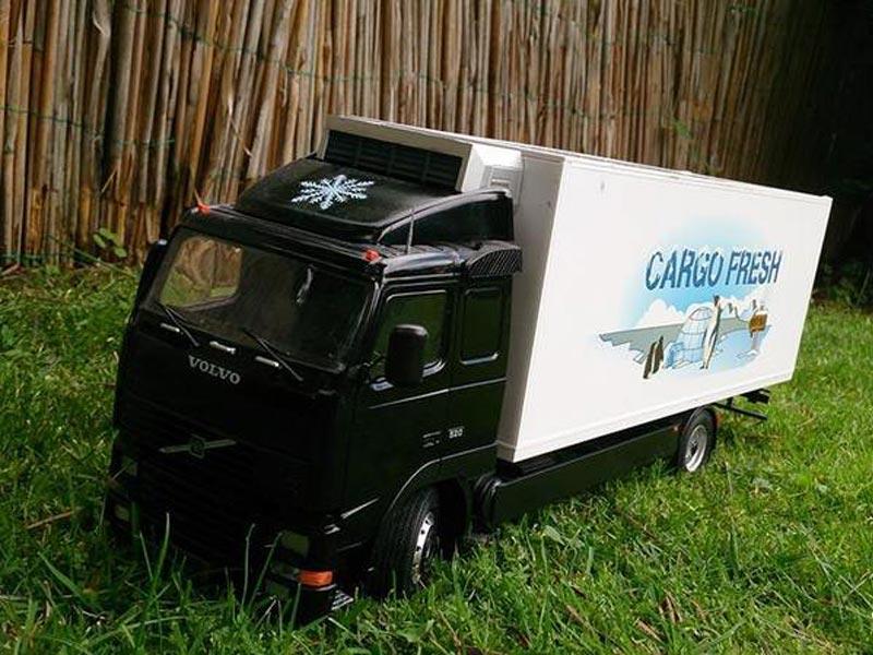 Mein erstes Modell: Italeri Volvo Reefer Truck 110