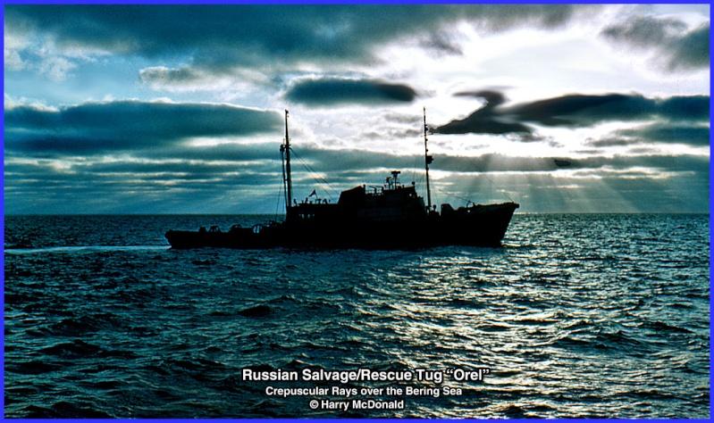 """Hochsee - Rettungschlepper """"Orel"""" der UDSSR in 1/50. Oldtimer zum restaurieren.  Tugore10"""