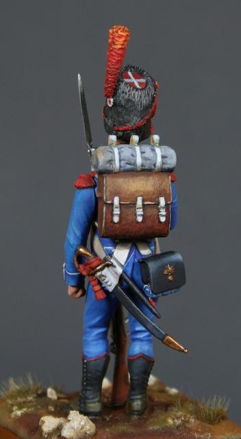 Carabinier Du 2 eme Regiment etranger Isembourg 1806  Img_4911