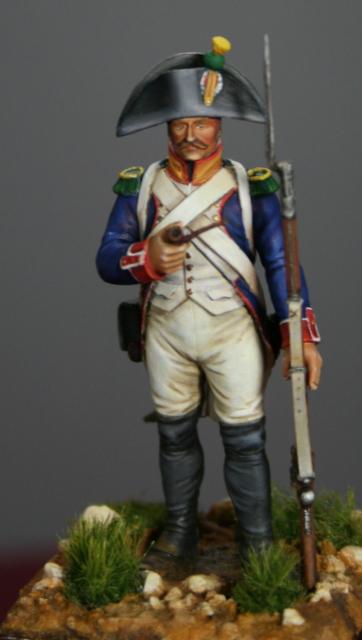 Infanterie de ligne: voltigeur en 1806 Img_5514