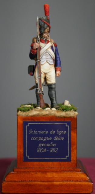 Infanterie de ligne: grenadier en 1808. Img_5516