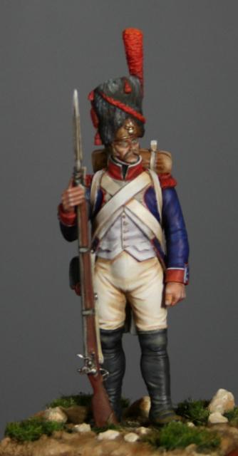 Infanterie de ligne: grenadier en 1808. Img_5517