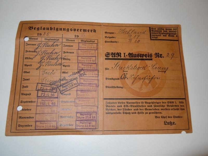 La Sturmabteilung,SA,la section d'assaut de la NSDAP, Dscn0211