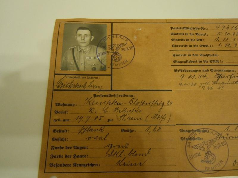 La Sturmabteilung,SA,la section d'assaut de la NSDAP, Dscn0213