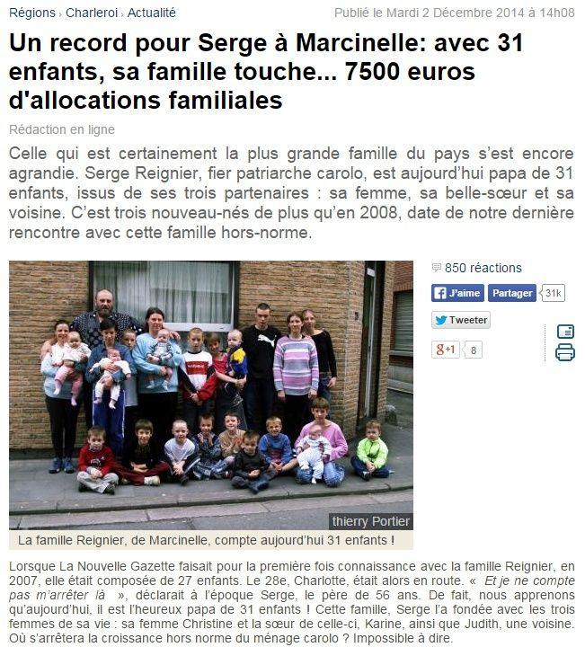31 enfants ... 7500 euros d'allocations familiales Captur17