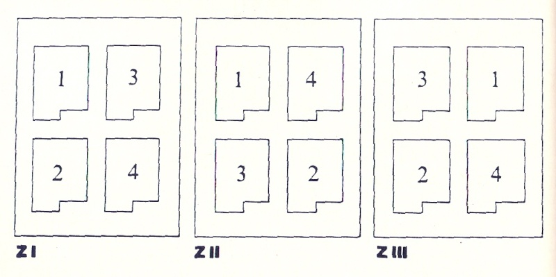 1. Ausgabe 1850/54 - Die 9 Kreuzer Type I Zusamm11