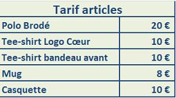 Boutique Equipe de France F5J 2019 Tarifs14