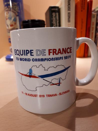 Boutique Equipe de France F5J 2019 Tasse10