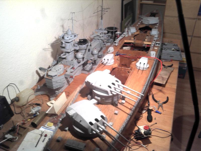 Scharnhorst 1943 - Fund von 1978 in 1:100 13112011