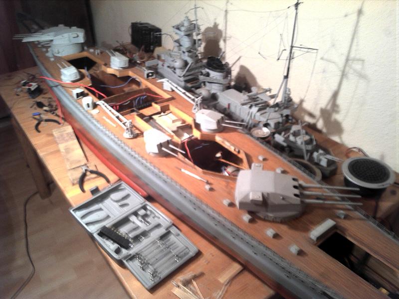 Scharnhorst 1943 - Fund von 1978 in 1:100 13112015