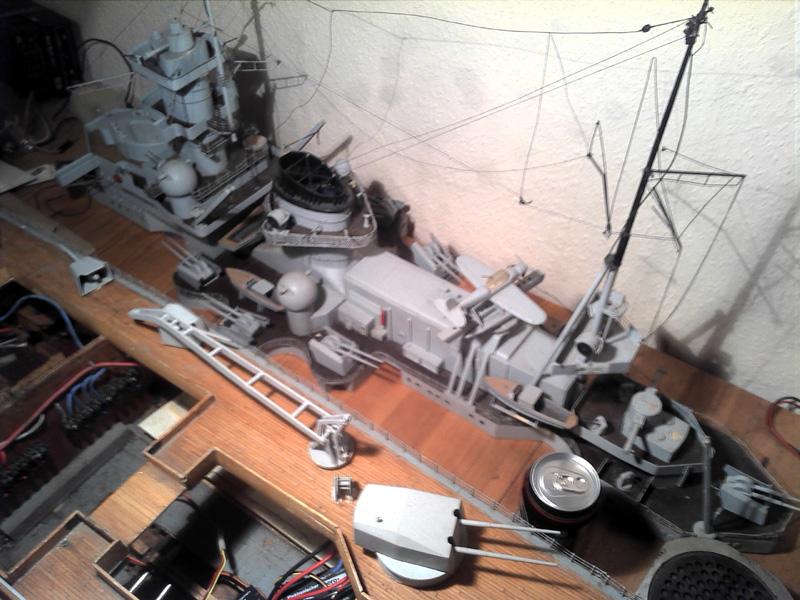 Scharnhorst 1943 - Fund von 1978 in 1:100 13112017