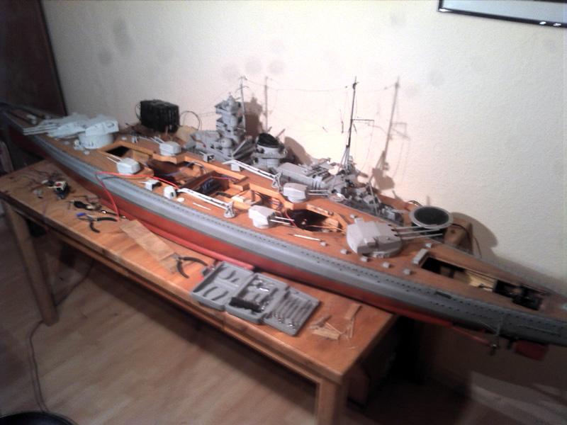 Scharnhorst 1943 - Fund von 1978 in 1:100 13112018