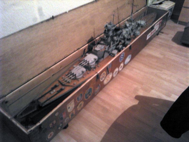 Scharnhorst 1943 - Fund von 1978 in 1:100 Komple14