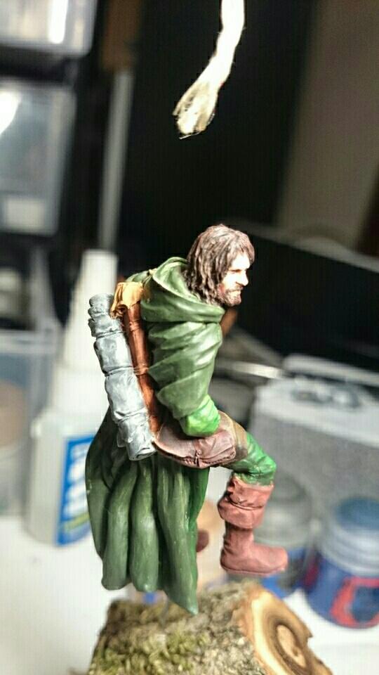 """Laurent """"Legolas"""" Versus Hokuto """"Aragorn"""" 54mm Mms_im40"""