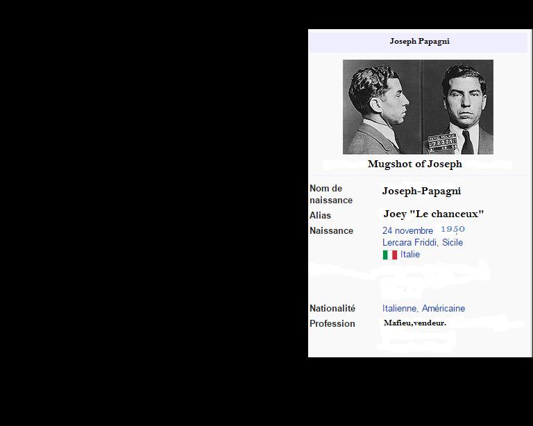"""Joseph """"Joey Le Chanceux"""" Papagni Joey12"""
