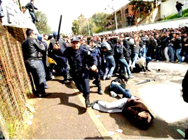 L'Algerie est fiere de sa police on ne peut que desapprouver ! Mimoun10