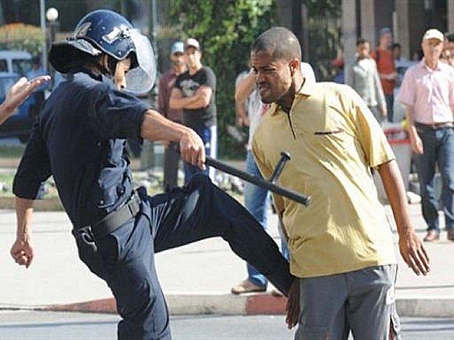 L'Algerie est fiere de sa police on ne peut que desapprouver ! Mimoun13