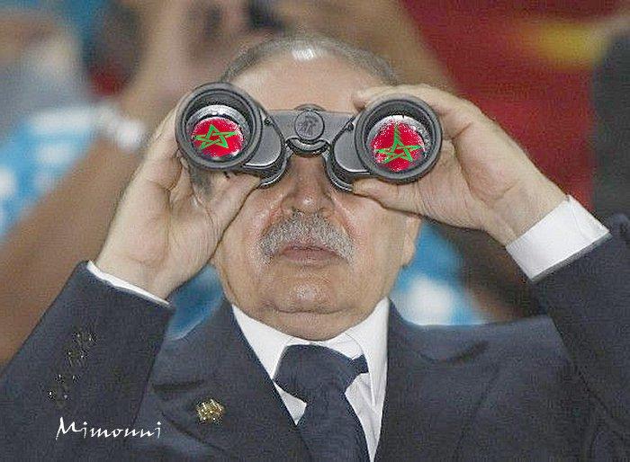 لعل الرئيس الجزائري إشتاق الي بلده المغرب Mimoun19