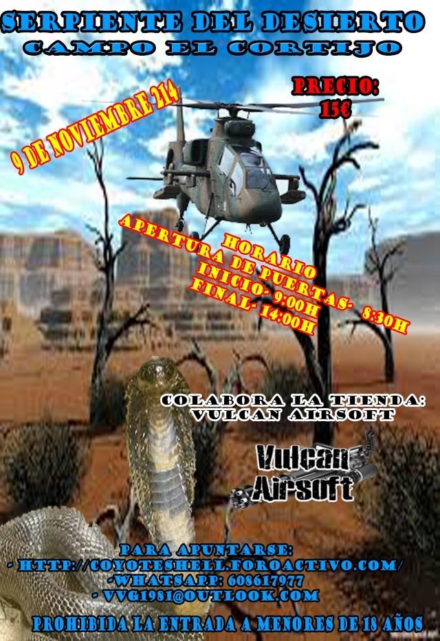 Serpiente del desierto, partida abierta 7.12.14 (Domingo) campo El Cortijo Serpie10