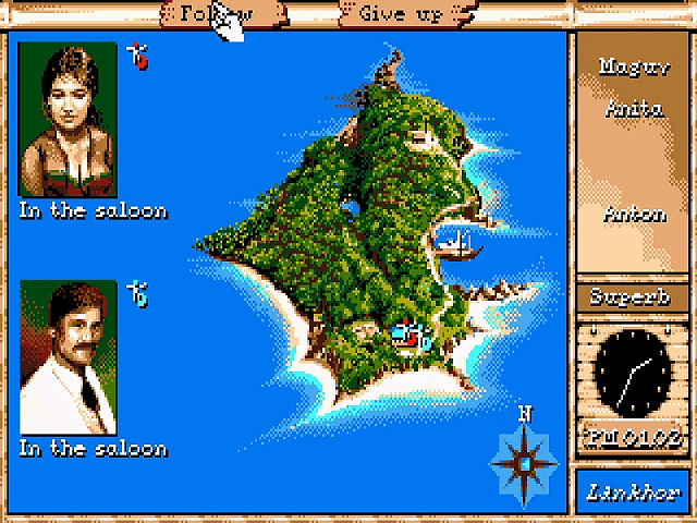 Maupiti Island [Lankhor] 1990 Maupit10