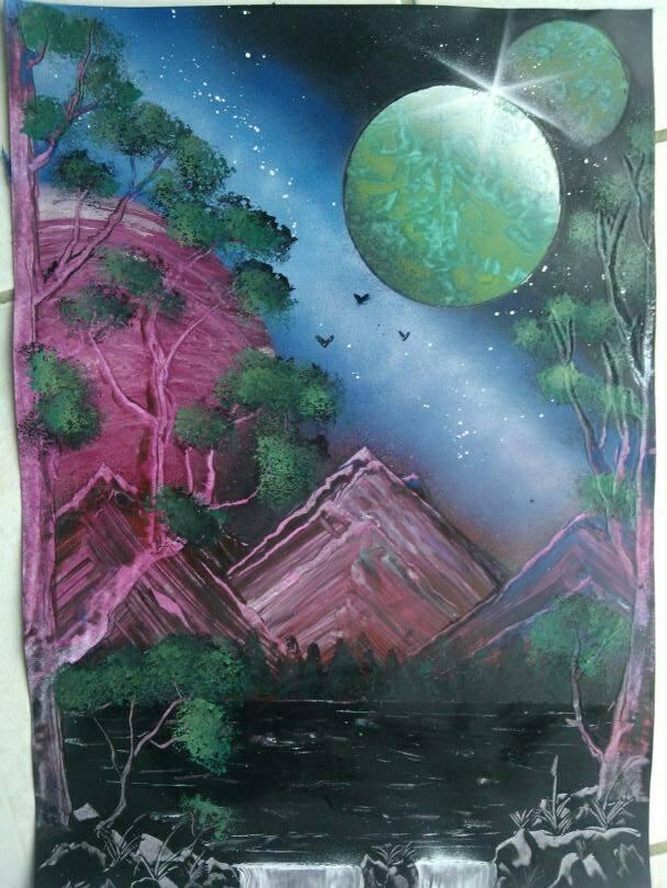 mes premiers tableaux  93489610