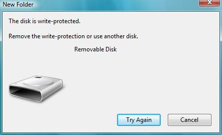 remove - Remove write protection from a USB key (via the Registry) 0-6ghy10