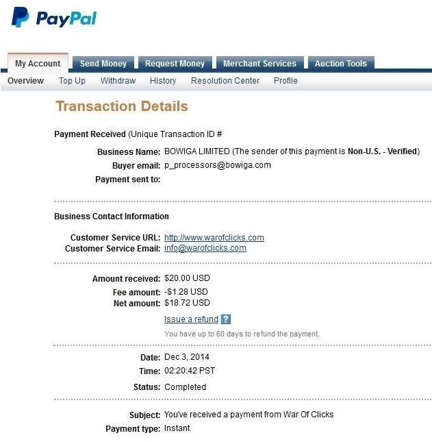 war of clicks Paypal10