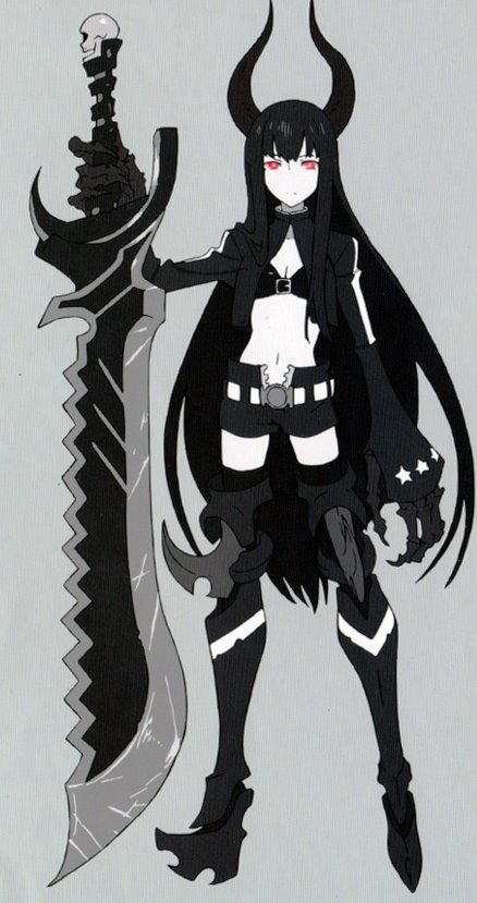 [Black Rock Shooter] Black★Gold Saw (OVA) 122