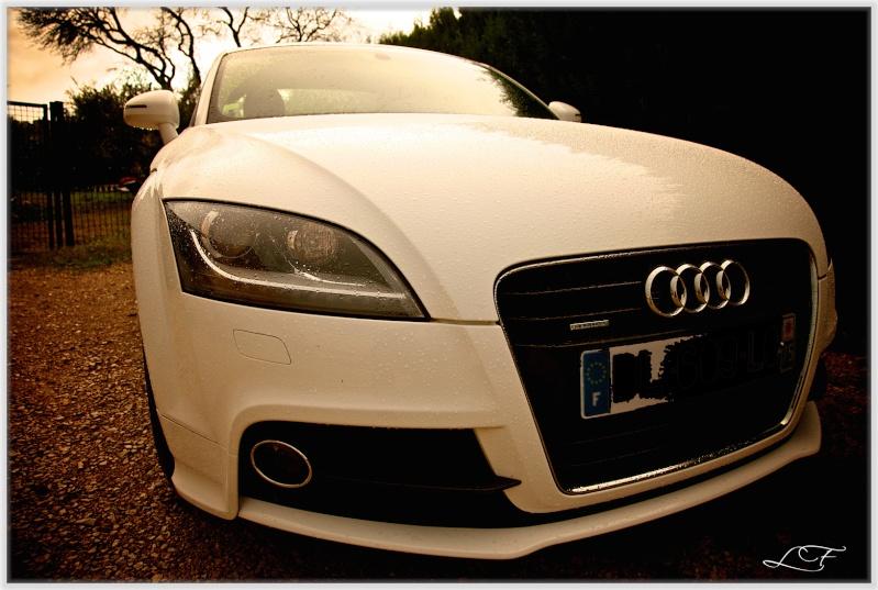 Audi TT 2.0 litres TFSI Quattro Blanc Ibis S line 2l2z2211