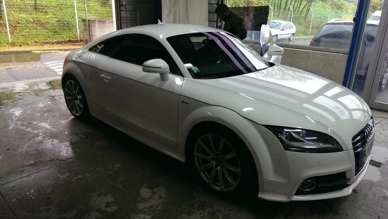 Audi TT 2.0 litres TFSI Quattro Blanc Ibis S line Imag1310