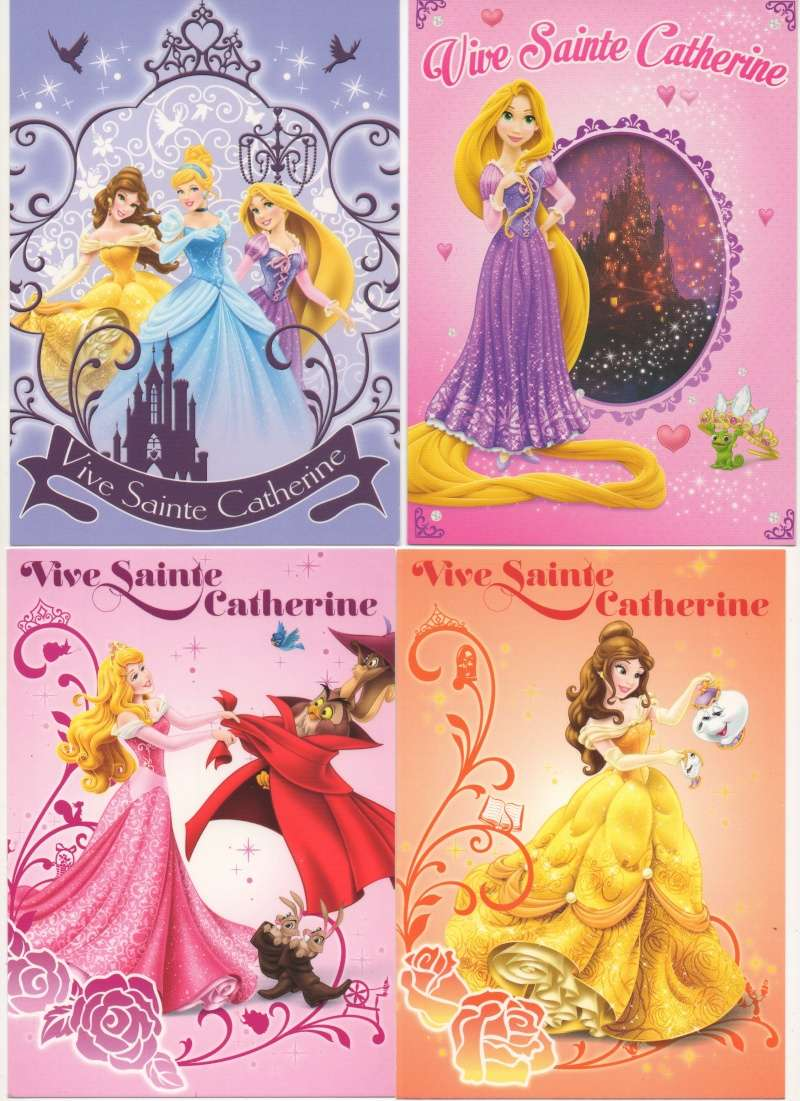 Les cartes postales Disney - Page 14 Cartes14