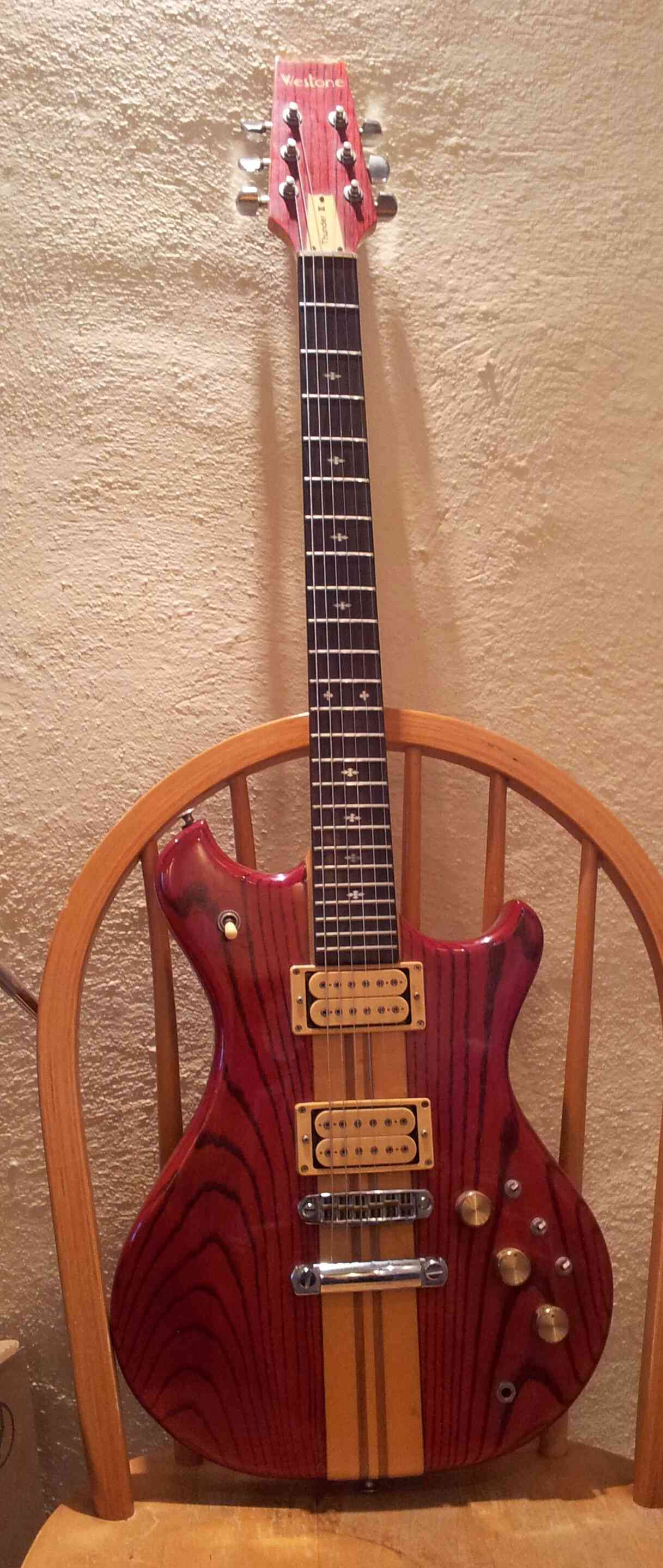 guitar - Newbie post about my Thunder III guitar Img_0112