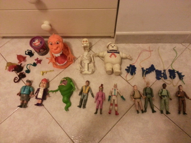 LOTTO THE REAL GHOSTBUSTERS 80/90 20141124