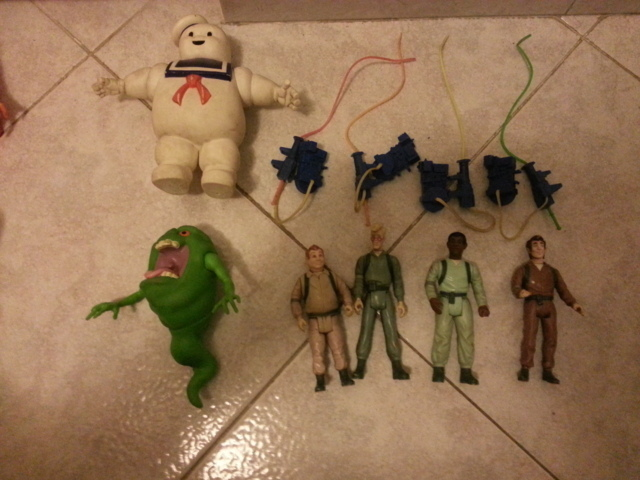 LOTTO THE REAL GHOSTBUSTERS 80/90 20141125